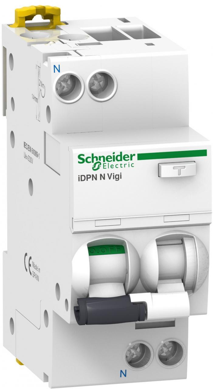 Schneider Electric Chránič proudový kombinovaný 2p B 16A 30mA AC 6kA (A9D55616)