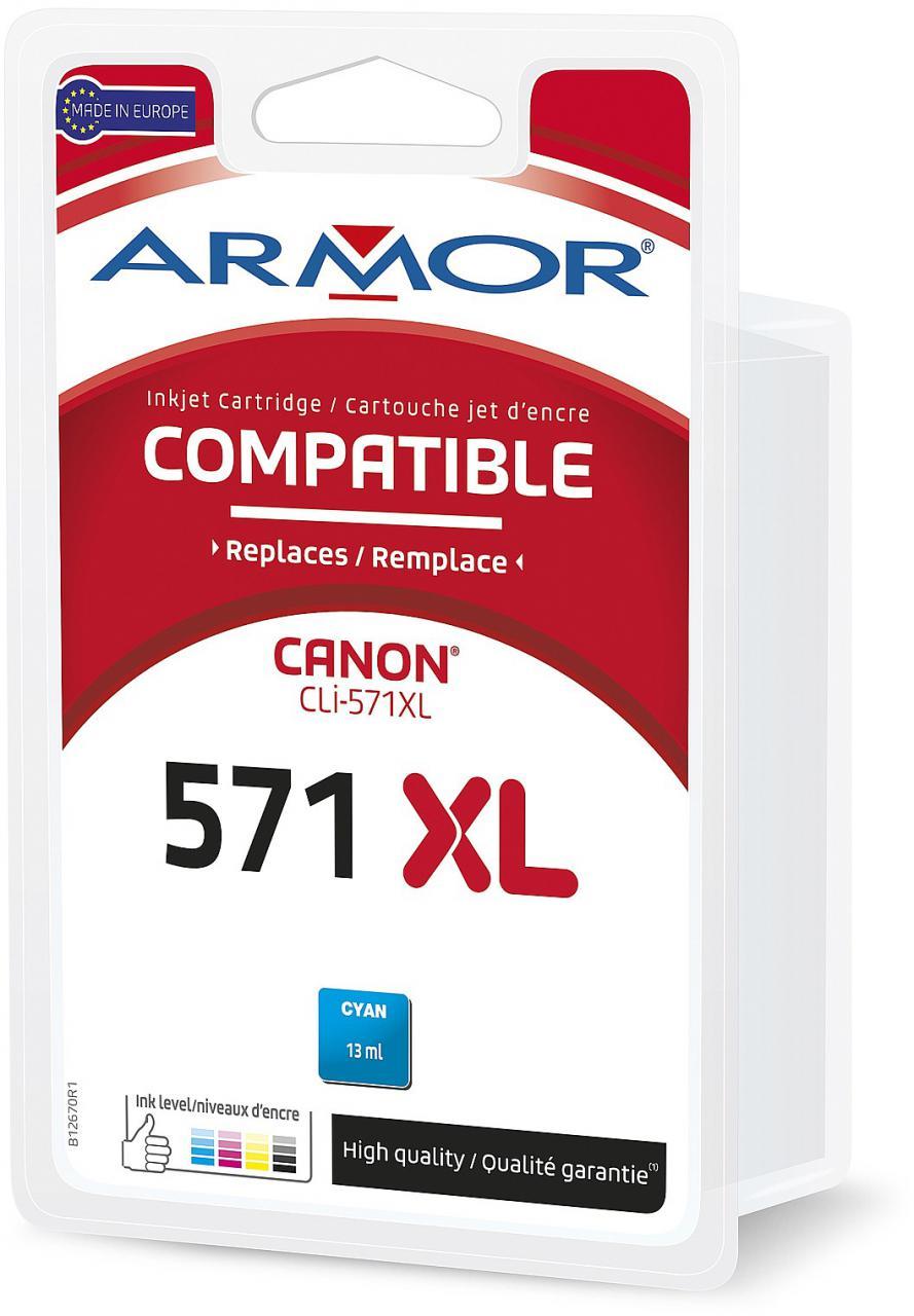ARMOR ink-jet pro Canon Pixma MG5751, (CLI571CXL) (B12670R1)