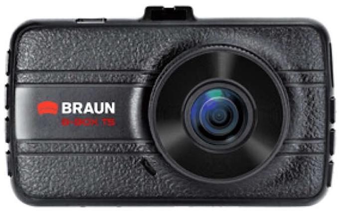 """Fotografie BRAUN PHOTOTECHNIK BRAUN B-BOX T5 kamera do auta (Full HD, kovová, objektiv Ultralit 120°, 3""""LCD (57607)"""