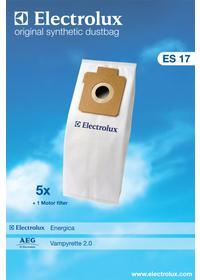 ELECTROLUX ES17 SÁČEK+FILTR (900256339)