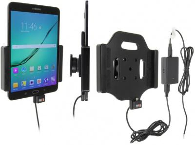 BRODIT držák do auta na Samsung Galaxy Tab S2 8.0 bez pouzdra, se skrytým nabíjením (PBR-513781)