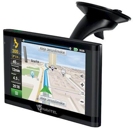 DEVIA Navitel GPS navigace E500 + magnetický držák (GPSNAVIE500M)