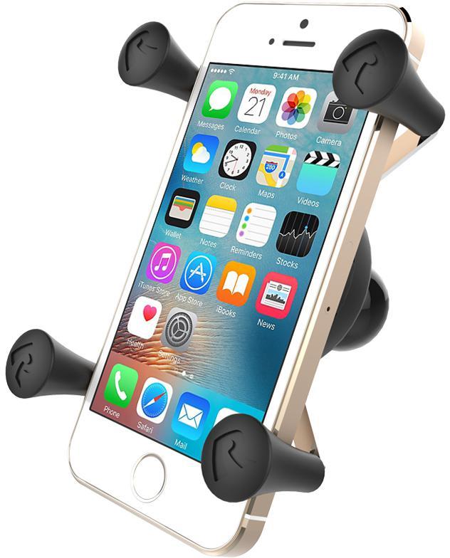 """Fotografie BRODIT RAM Mounts X-Grip univerzální držák na mobilní telefon s 1"""" kulovým čepem (RAM-HOL-UN7BU)"""