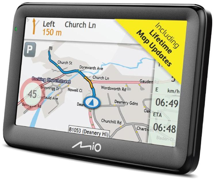 """MIO Pilot 15 LM navigace, LCD 5"""", mapy EU, Lifetime (442N60300002)"""