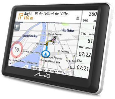 "MIO Spirit 7700 GPS navigace, LCD 5"", mapy EU, Lifetime (442N60200003)"