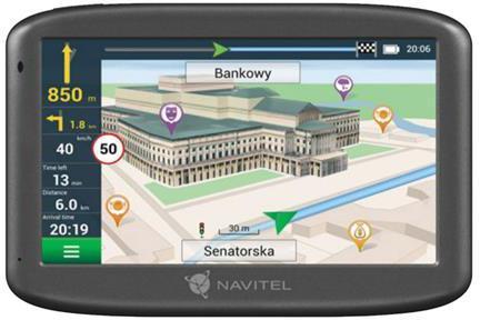 DEVIA Navitel GPS navigace E505 + magnetický držák (GPSNAVIE505M)