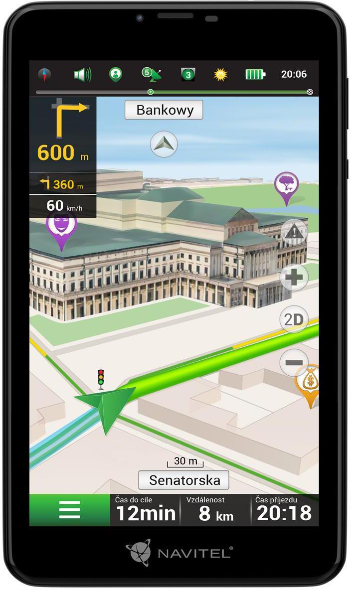 DEVIA Navitel tablet T757 LTE s navigací (GPSNAVIT757LTE)