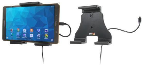 BRODIT držák do auta na tablet nastavitelný, se skrytým nabíjením, 120-150mm (PBR-527940)