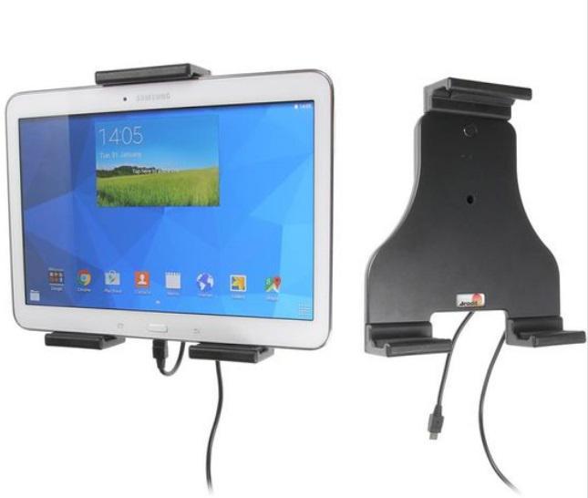 BRODIT držák do auta na tablet nastavitelný, se skrytým nabíjením, 180-230mm (PBR-527942)