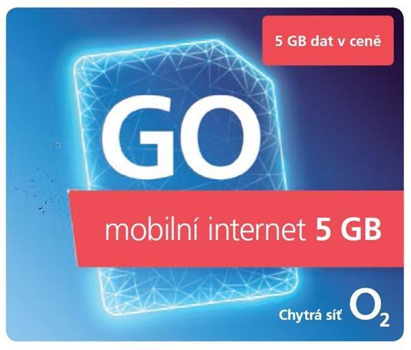 O2 Předplacený GO mobilní internet 5GB (SMALLGO.OV5GB)