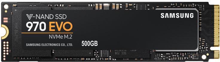 SAMSUNG SSD M.2 500GB Samsung 970 EVO (MZ-V7E500BW)