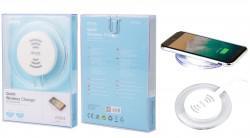ALIGATOR bezdrátová nabíječka USB-C 2A, bílá (0051551)