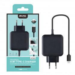Fotografie Aligator nabíječka USB-C pro NTB a Mobily 3A černá
