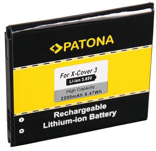 Fotografie PATONA baterie pro mobilní telefon Samsung X-Cover 3 2200mAh 3,85V Li-lon