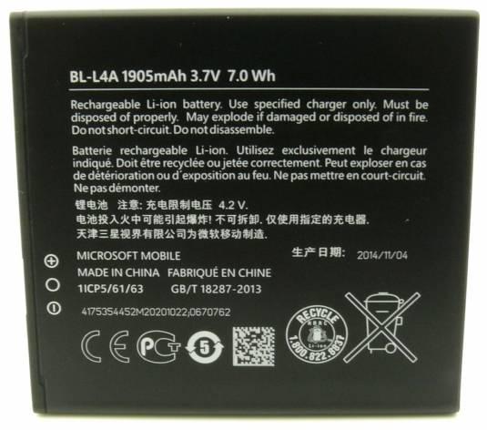 NOKIA baterie BL-L4A 1905mAh Li-Ion (Bulk) (8592118802598)