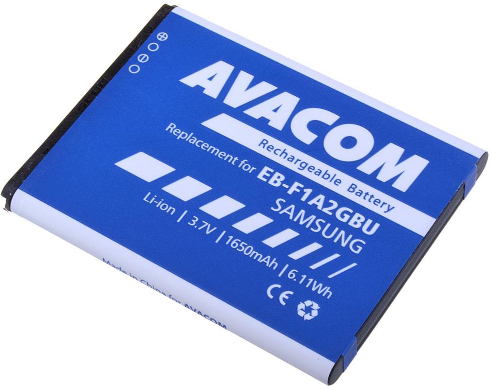 Fotografie Avacom pro Samsung Galaxy S2, Li-Ion 1650mAh (náhrada EB-F1A2GBU) (GSSA-I9100-S1650A)