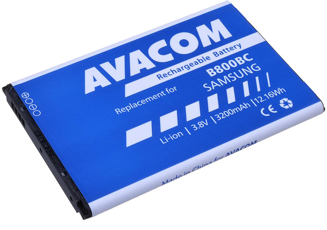 Fotografie Avacom pro Samsung Galaxy Note 3, Li-Ion 3200mAh (náhrada EB-B800BEB) (GSSA-N9000-S3200A)
