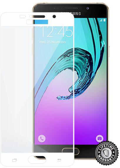 SCREENSHIELD SAMSUNG A510 Galaxy A5 (2016) Tempered Glass protection (full COVER WHITE) (SAM-TGFCWMFA510F-D)