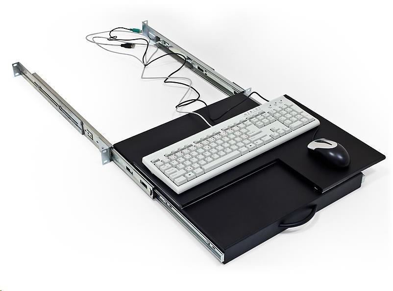 Triton Police výsuvná/otočná pro klávesnici a myš, šedá (RAC-UP-X40-A1)