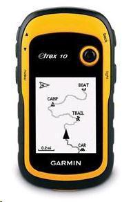 Garmin GPS turistická navigace eTrex 10 (010-00970-00)