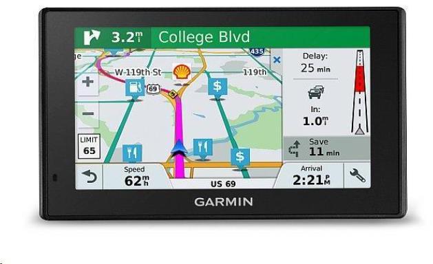 Garmin GPS navigace DriveSmart 51T-D Lifetime Europe45 (010-01680-13)