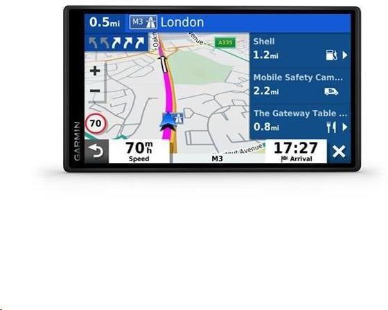 Garmin GPS navigace DriveSmart 55S WIFI Europe45 (010-02037-12)
