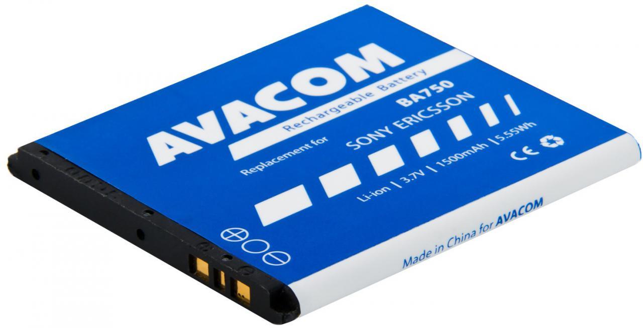 AVACOM Baterie AVACOM GSSE-ARC-S1500A do mobilu Sony Ericsson Xperia Arc, Arc S Li-Ion 3,7V 1500mAh (GSSE-ARC-S1500A)