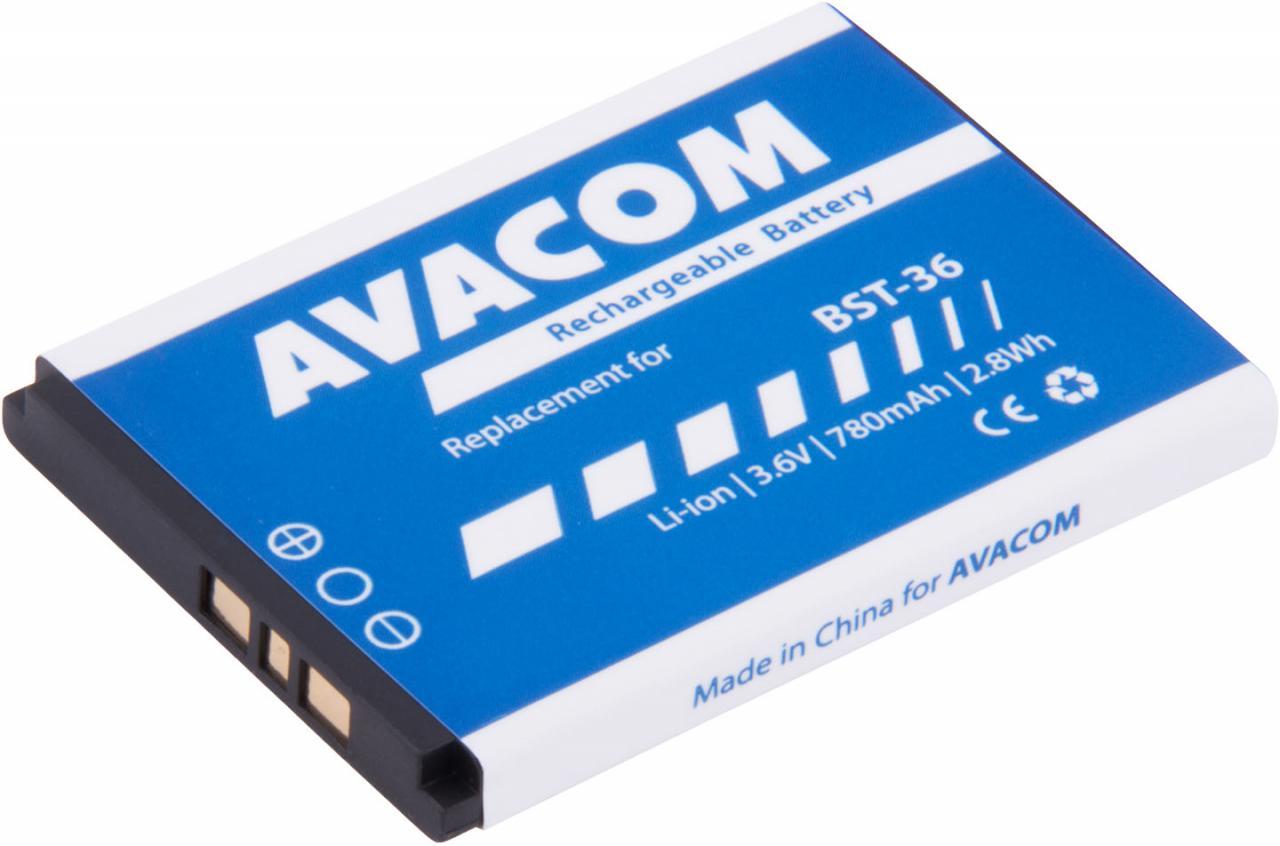 AVACOM Baterie AVACOM GSSE-J300-S780 do mobilu Sony Ericsson J300, W200 Li-Ion 3,7V 780mAh (GSSE-J300-S780)