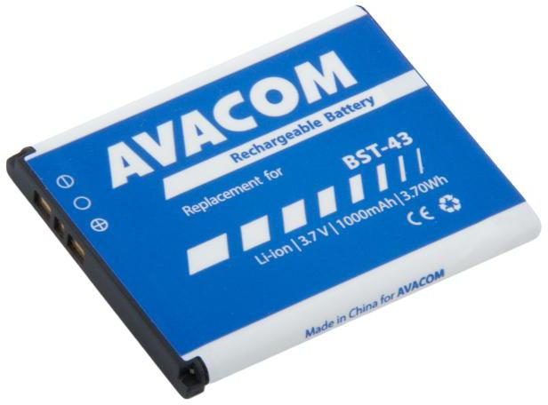 AVACOM Baterie AVACOM GSSE-U100-S1000A do mobilu Sony Ericsson U100, Elm Li-Ion 3,7V 1000mAh (GSSE-U100-S1000A)