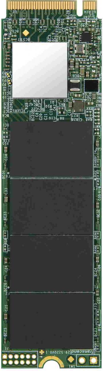 Transcend SSD 110S 128GB, M.2 2280, PCIe Gen3x4, 3D TLC, DRAM-less (TS128GMTE110S)