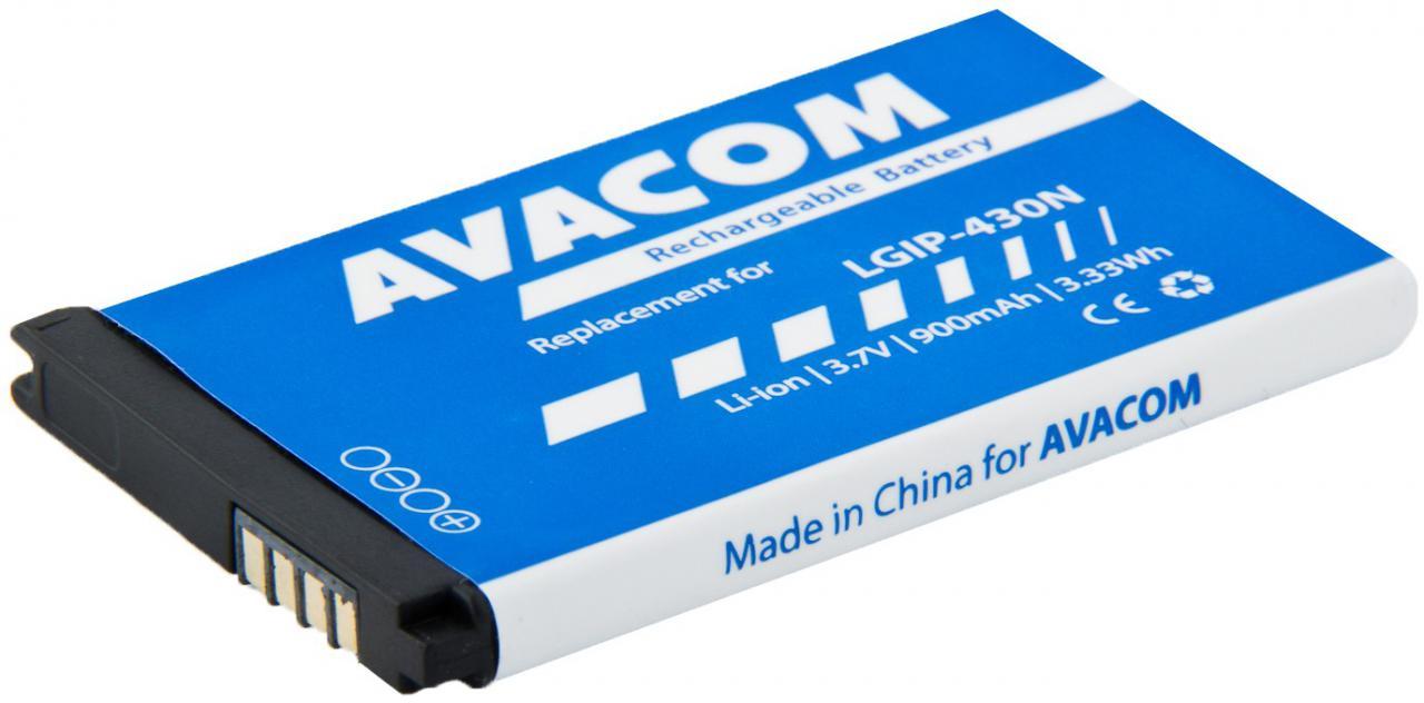 AVACOM Baterie AVACOM GSLG-430N-900 do mobilu LG GM360 Li-Ion 3,7V 900mAh, (náhrada LGIP-430N) (GSLG-430N-900)
