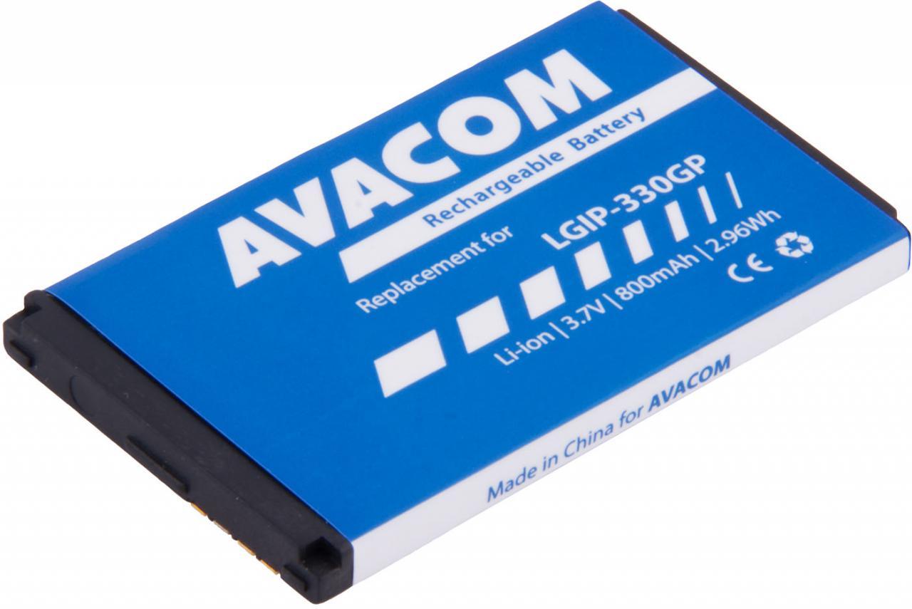 AVACOM Baterie AVACOM GSLG-KF300-S800 do mobilu LG KF300 Li-Ion 3,7V 800mAh (náhrada LGIP-330GP) (GSLG-KF300-S800)