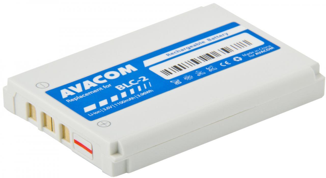 Fotografie Avacom pro Nokia 3410, 3310 ,3510, Li-Ion 1100mAh (náhrada BLC-2) (GSNO-BLC2-1100A)