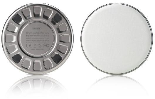 REMAX RP-W10, bezdrátová nabíječka, stříbrná (AA-1284)