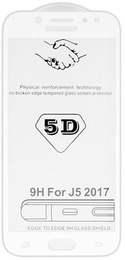5D tvrzené sklo Samsung Galaxy J5 2017 (J530) White (FULL GLUE)