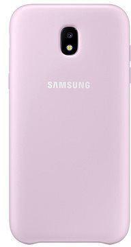 Fotografie Samsung Dual Layer Cover pro J3 2017 (EF-PJ330CPEGWW) růžový