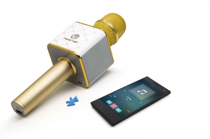 Technaxx bluetooth karaoke mikrofon se stereo reproduktorem (BT-X31) (4685)