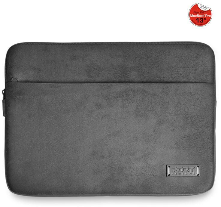 "PORT DESIGNS MILANO MacBook Pro 15'' pouzdro na 13/14"" notebook, šedé (140701)"