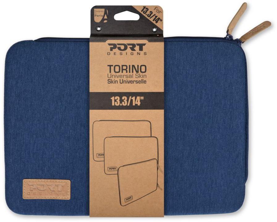 """PORT DESIGNS TORINO pouzdro na 13,3/14"""" notebook, modré (140404)"""