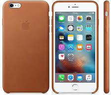 APPLE iPhone 6S Plus Leather Case Saddle Brown (MKXC2ZM/A)