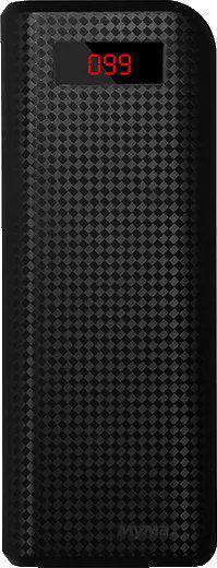 MyMAx PowerBank 20000mAh Black