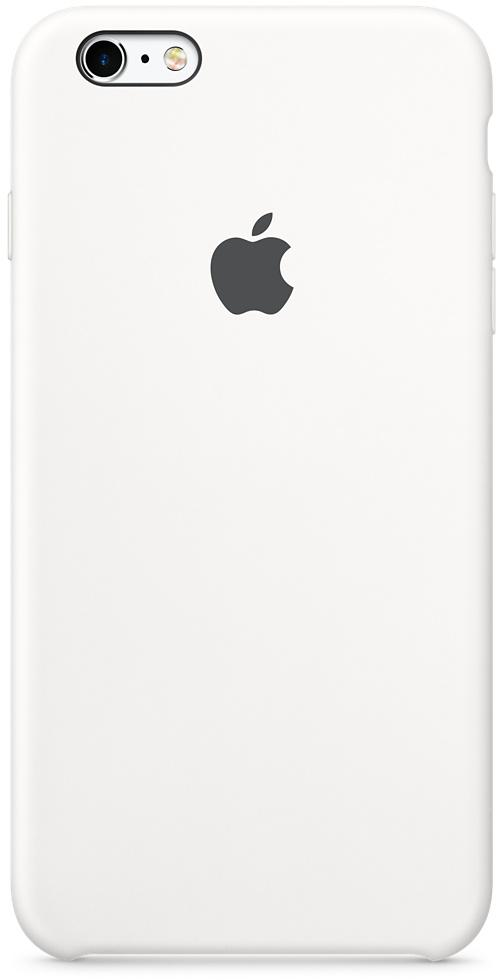 APPLE iPhone 6S Plus Silicone Case White (MKXK2ZM/A)