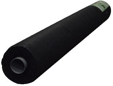 textilie netkaná 1.6/100m ČER UV 50g/m2