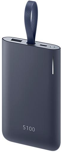 SAMSUNG Powerbank 5100mAh 15W USB-C, Navy (EB-PG950CNEGWW)