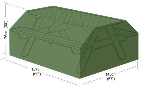 plachta krycí na pivní (zahradní) set 157x145x76cm, PE 90g/m2 (140330)