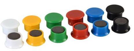 RON magnet 851/13mm mix barev (14ks) (20802001)