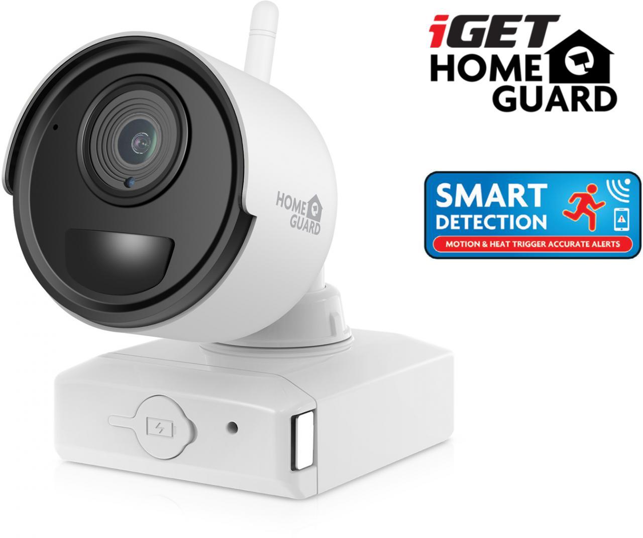 IGET HGNVK686CAM - bateriová bezdrátová WiFi FullHD 1080p kamera pro set HGNVK68004, 8700 mAh (HGNVK686CAM)