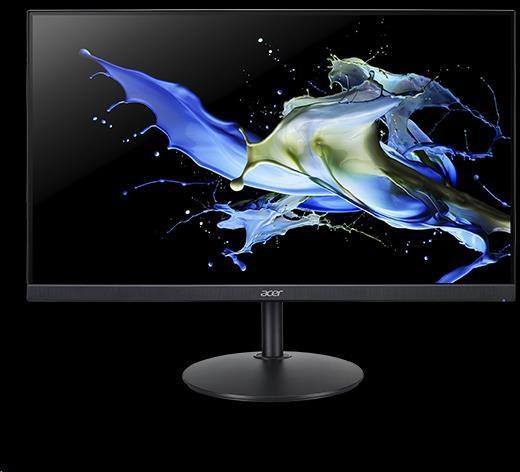 "Acer LCD CB272 - 27"", IPS LED, 1920x1080, VGA, HDMI, DP, 75Hz. 100M:1, 1ms, Black (UM.HB2EE.001)"