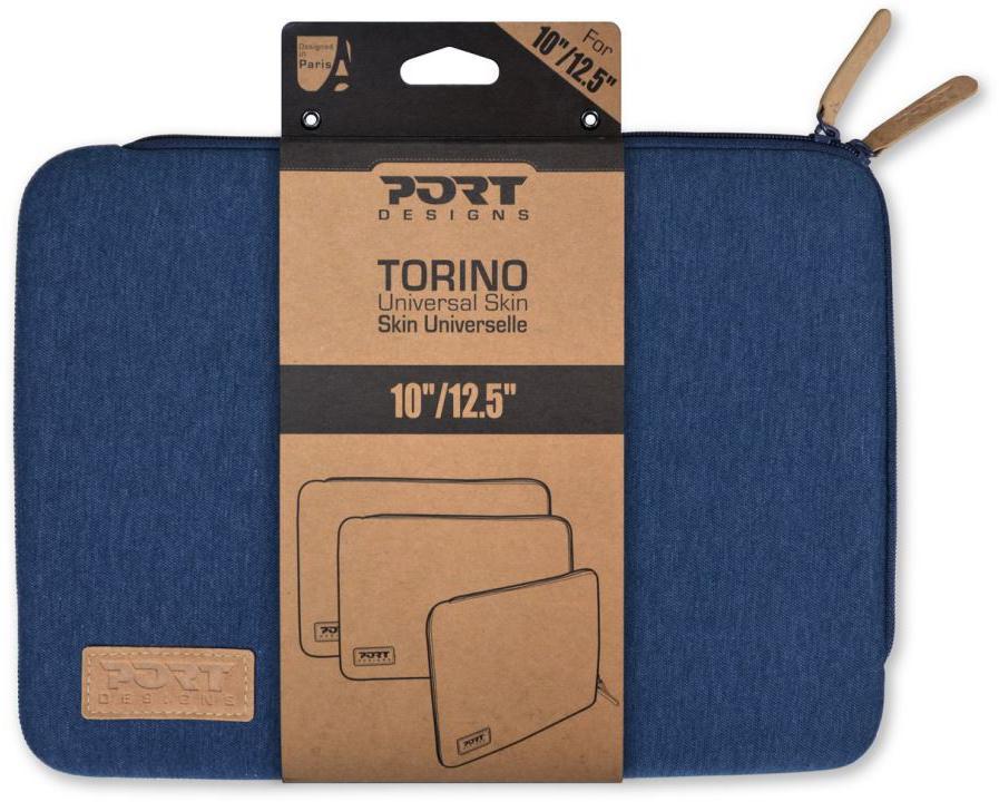 """PORT DESIGNS TORINO pouzdro na 10/12,5"""" notebook, modré (140403)"""
