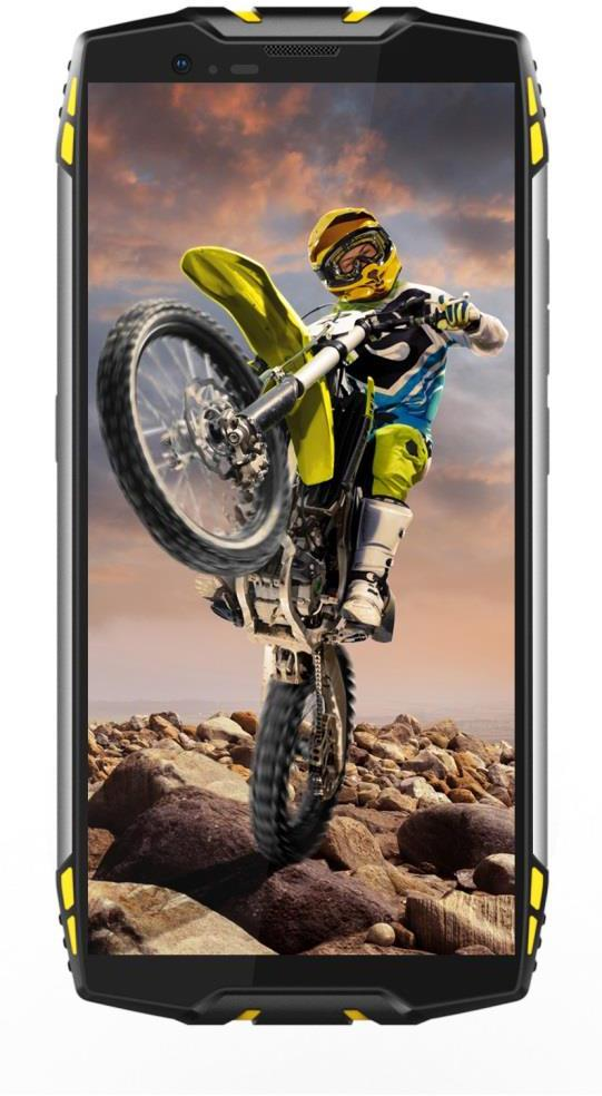 "IGET Blackview GBV6800 Pro Yellow odolný telefon, 5,7"" FHD, 4GB+64GB, DualSIM, 4G, 6580mAh, NFC (GBV6800 Pro Yellow)"